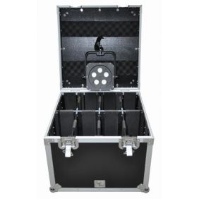 Flight Case Pro COMTECH 8 Flat Par Small