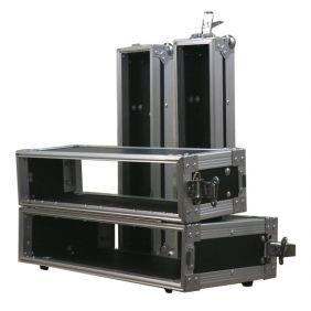 Flight Case Pro COMTECH Rack pour double lecteur CD 19'' 2U