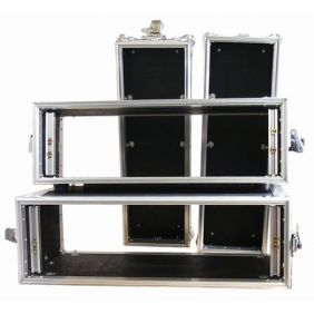 Flight Case Pro COMTECH Rack pour double lecteur CD 19'' 3U