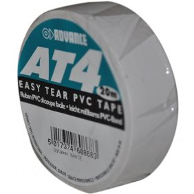 ADVANCE Gaffa AT4 Tape blanc 19mm/20m