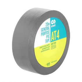 ADVANCE Gaffa AT4 Tape gris 19mm/20m