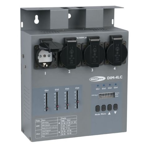 SHOWTEC DIM-4LC 4 Channel 3A per channel Dimming Pack