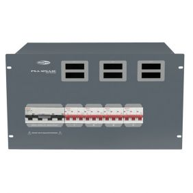 SHOWTEC PSA-125A4C 4 x MCB, CEE out