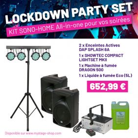 Lockdown Party Set