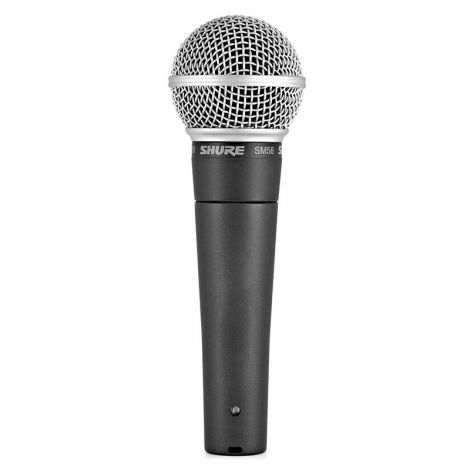 Micro vocal SHURE SM58-LCE